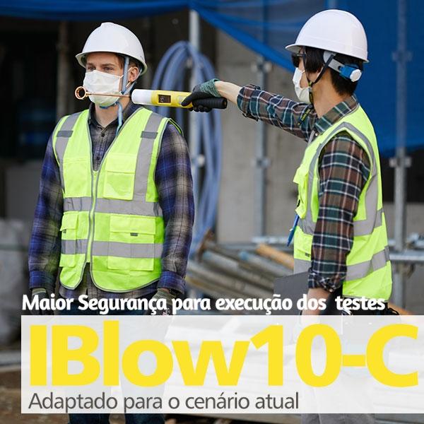 Iblow10-c -Mais segurança para os testes