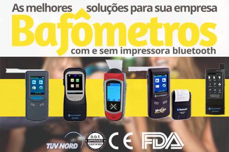 Bafômetro Eletrônico-Bafômetros eletrônicos