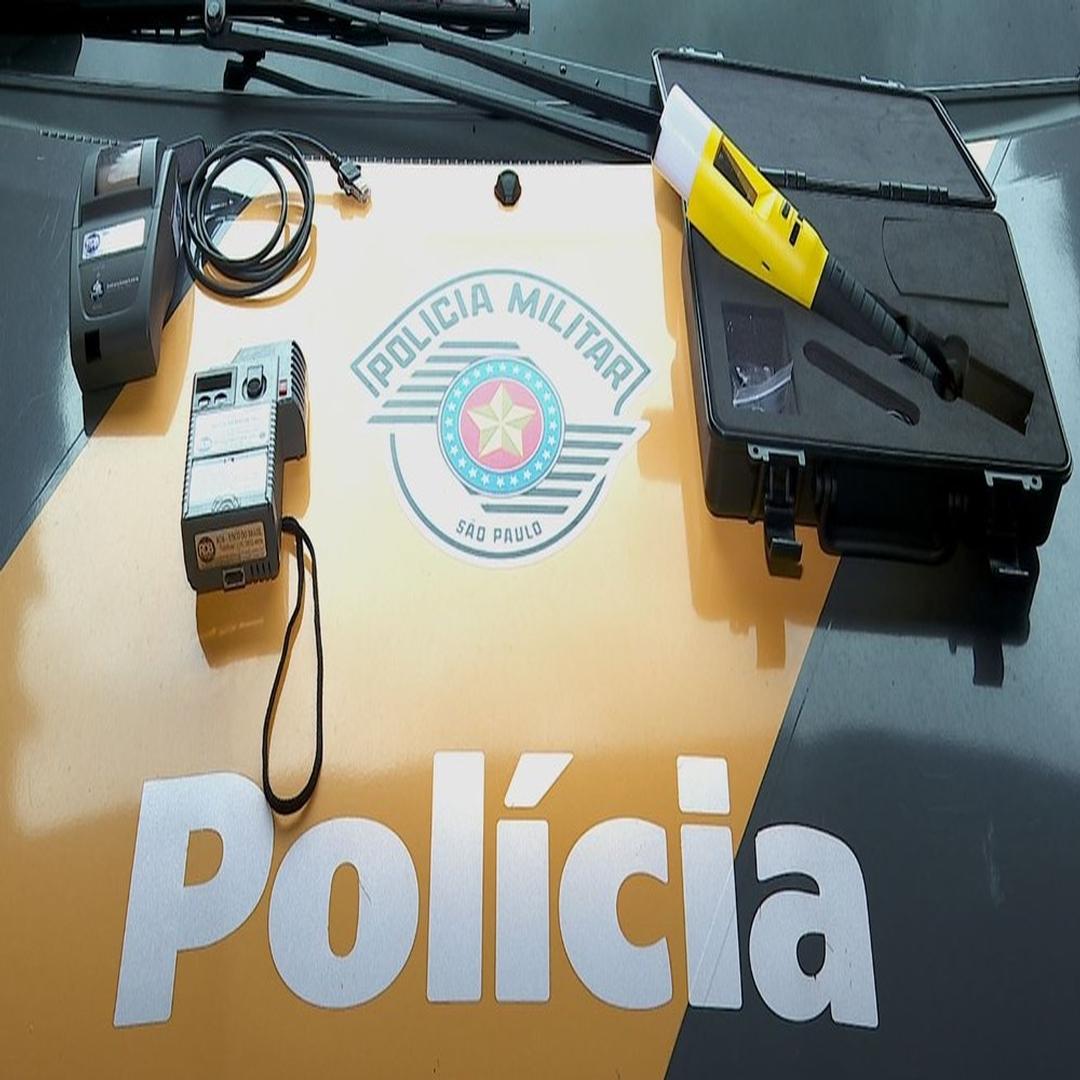 PM usa bafômetro que capta álcool por aproximação do condutor nas rodovias da região-RIBEIRAO PRETO E FRANÇA