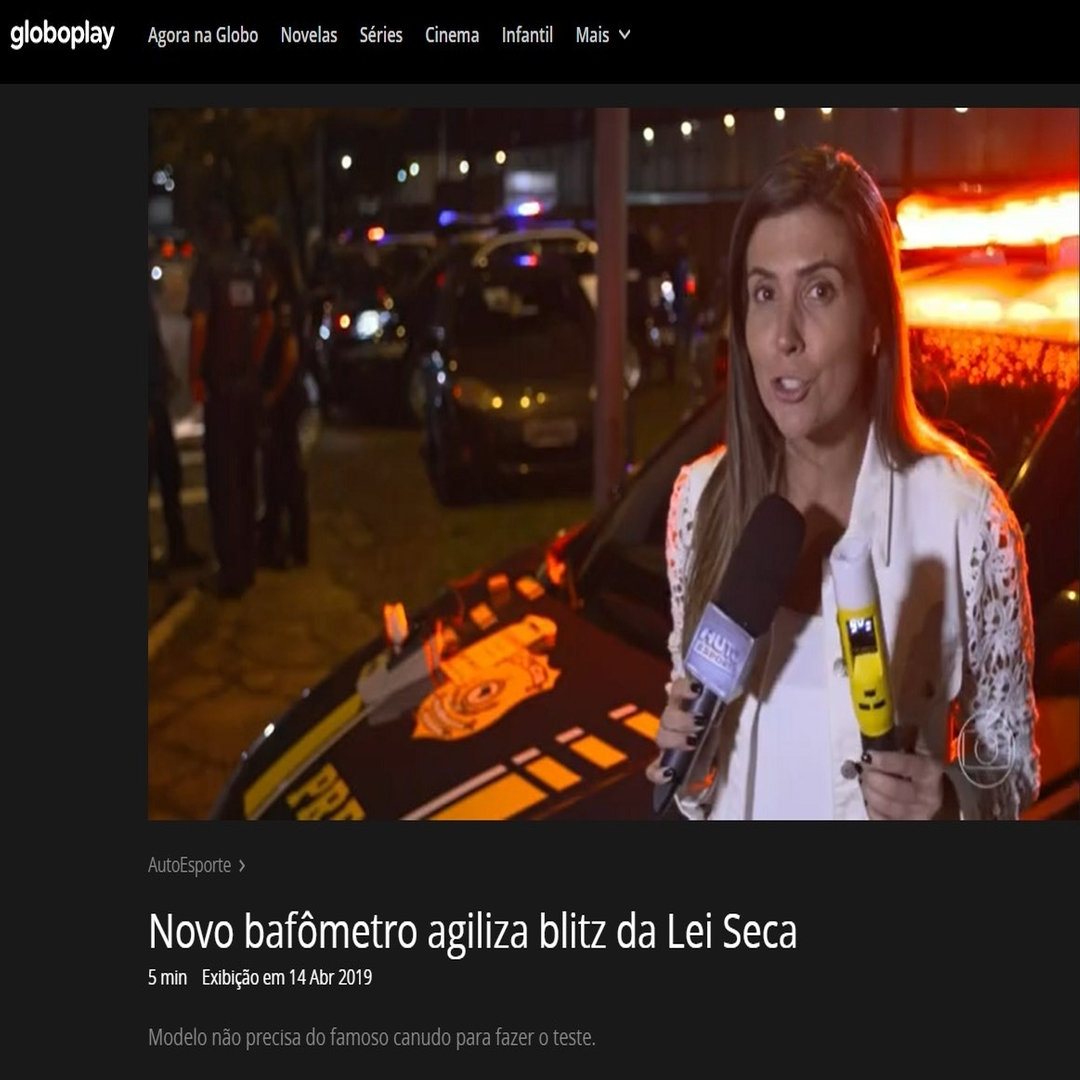 Autoesporte Rede Globo - Bafometro Passivo-iblow10